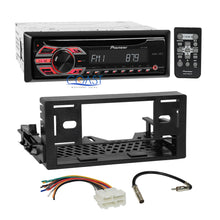 Load image into Gallery viewer, Pioneer CD MP3 AUX Stereo Din EQ Dash Kit Harness for 95-up GMC Chevy Cadillac
