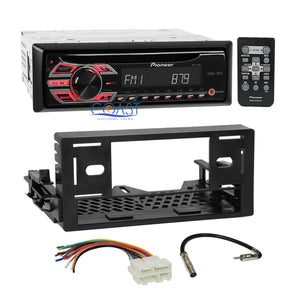 Pioneer CD MP3 AUX Stereo Din EQ Dash Kit Harness for 95-up GMC Chevy Cadillac