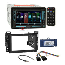 Load image into Gallery viewer, Soundstream DVD USB Sirius Dash kit Amp Harness for 2006+ Chevy Pontiac Saturn