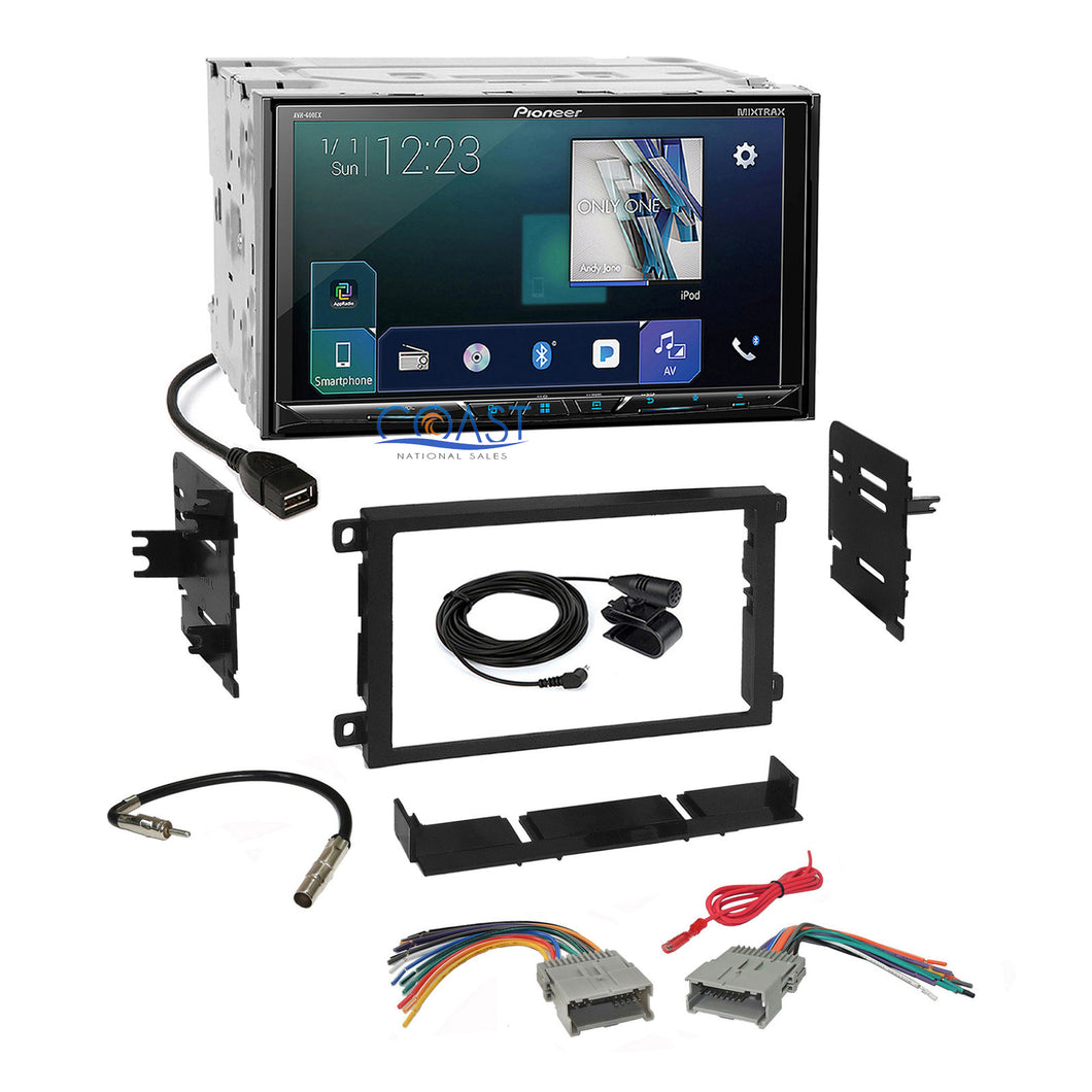 Pioneer 2018 GPS Ready Stereo Dash Kit Harness for 1992+ Chevrolet GMC Pontiac