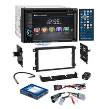Load image into Gallery viewer, Planet Audio DVD USB Stereo 2Din Dash Kit Onstar Harness for 2000+ GM Chevrolet