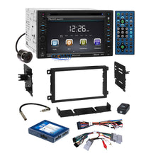 Load image into Gallery viewer, Planet Audio DVD Camera Stereo Dash Kit Onstar Harness for 2000+ GM Chevrolet