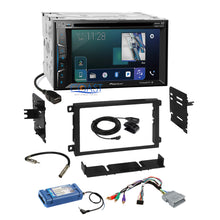 Load image into Gallery viewer, Pioneer 2018 DVD SiriusXm AppRadio Stereo Dash Kit Amp Steering Harness for GM