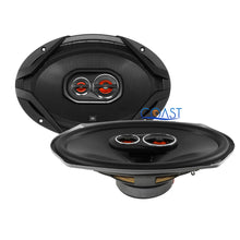 "Load image into Gallery viewer, JBL Car Audio Pro Flush 6 x9"" 300W 3-Way Coaxial Speaker Brackets GX963 - Pair"