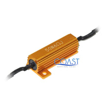 Load image into Gallery viewer, Error-Free Load Resistor LED Warning Light Decoder Wire Harness H11 H8 - 2 pcs