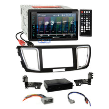 Load image into Gallery viewer, Soundstream DVD USB Bluetooth Stereo Dash Kit Harness for 2013-15 Honda Accord