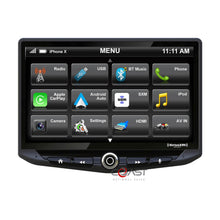 "Load image into Gallery viewer, Stinger 10"" Floating Touchcreeen Carplay Android SiriusXm Car Stereo Receiver"