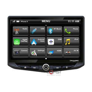 "Stinger 10"" Floating Touchcreeen Carplay Android SiriusXm Car Stereo Receiver"