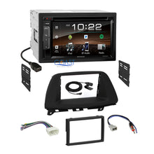 Load image into Gallery viewer, Kenwood DVD Sirius Bluetooth Stereo Dash Kit Harness for 2005-07 Honda Odyssey