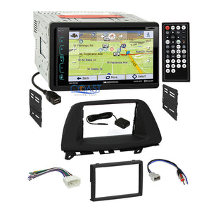 Soundstream DVD GPS Bluetooth Stereo Dash Kit Harness for 2005-07 Honda Odyssey