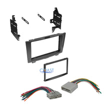 Load image into Gallery viewer, Double DIN Car Stereo Dash Kit + Wiring Harness for 2007-2010 Honda CRV CR-V