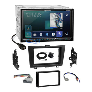 Pioneer DVD Sirius GPS Ready Stereo 2Din Dash Kit Harness for 07-11 Honda CRV