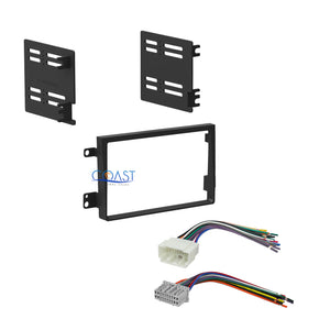 Car radio Stereo Double DIN Dash Kit Harness Combo for 2007-2011 Honda Element
