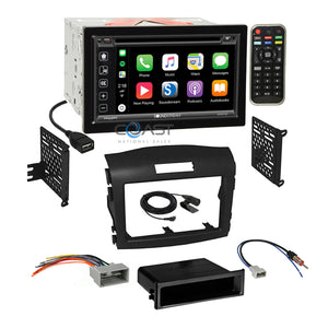 Soundstream 2018 Carplay Bluetooth Stereo Dash Kit Harness for 12-16 Honda CRV