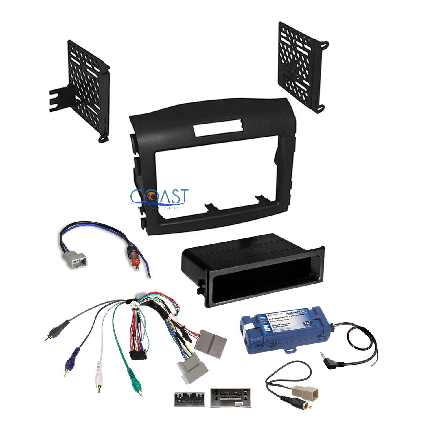 Radio Replacement Interface w//SWC Retention//Dash Kit 1 or 2 DIN Includes PAC-UP