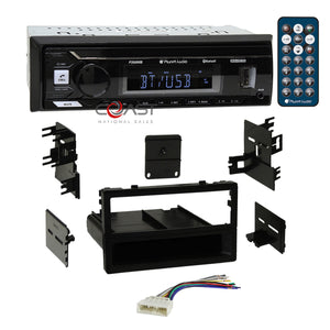Planet Audio USB Bluetooth Stereo 1Din Dash Kit Harness for 1986-01 Honda Acura