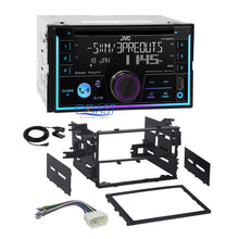 Load image into Gallery viewer, JVC CD USB Sirius Bluetooth Stereo 2Din Dash Kit Harness for 1999-2008 Honda