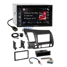 Load image into Gallery viewer, Pioneer 2016 Car Radio Stereo Dash Kit Wire Harness for 2006-2011 Honda Civic