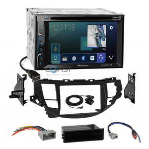 Pioneer Sirius AppRadio Radio Dash Kit Harness for 08-12 Honda Accord Crosstour