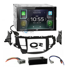 Load image into Gallery viewer, JVC Carplay Waze Bluetooth Stereo Dash Kit Harness for Honda Accord Crosstour