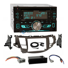 Load image into Gallery viewer, Kenwood CD USB Sirius Stereo Taupe Dash Kit Harness for Honda Accord Crosstour