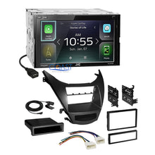 Load image into Gallery viewer, JVC Carplay Waze Bluetooth Stereo Dash Kit Harness for 2011-13 Hyundai Elantra