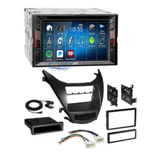 Load image into Gallery viewer, JVC 2018 DVD Bluetooth Stereo 2Din Dash Kit Harness for 2011-13 Hyundai Elantra
