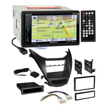Load image into Gallery viewer, Soundstream DVD GPS Bluetooth Stereo Dash Kit Harness for 11-13 Hyundai Elantra