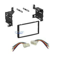 Load image into Gallery viewer, Single Double DIN Car Stereo Dash Kit + Harness Combo for 2005-2011 Hyundai Kia