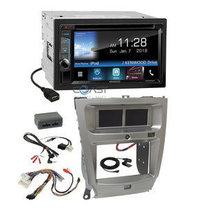 Kenwood DVD Waze Weblink Stereo Dash Kit Harness for 2006-13 Lexus IS250 IS350