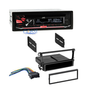 JVC Single DIN Car Radio Stereo Dash Kit Wire Harness for 2001-2008 Hyundai