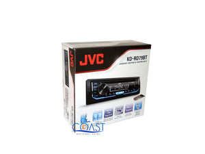 JVC Car Radio Single Din Bluetooth Dash Kit Harness For 82+ GMC Saturn Cadillac