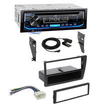Load image into Gallery viewer, JVC Car Stereo Single Din Bluetooth Dash Kit Harness For 2001-05 Honda Civic
