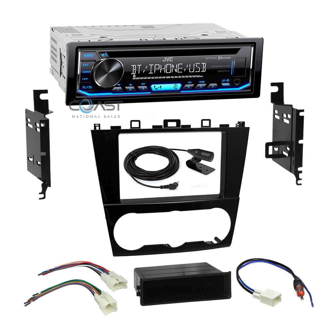 JVC Car Radio Single Double Din Bluetooth Dash Kit Harness For 2015 Subaru
