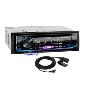 JVC Car Stereo SiriusXM Bluetooth Dash Kit Harness For 04-08 Chrysler Pacifica