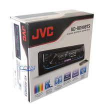 Load image into Gallery viewer, JVC Radio SiriusXM Bluetooth 1 Din Dash Kit Harness For 2002-04 Nissan Altima