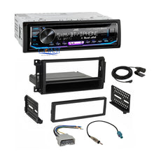 Load image into Gallery viewer, JVC Stereo SiriusXM Bluetooth Dash Kit Harness For 2007+ Chrysler Dodge Jeep VW