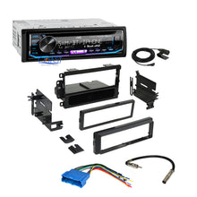 Load image into Gallery viewer, JVC Radio SiriusXM Bluetooth Dash Kit Harness For 94+ Buick Cadillac Oldsmobile