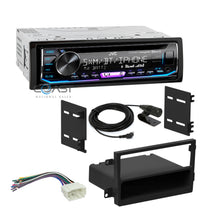 Load image into Gallery viewer, JVC Radio SiriusXM Bluetooth 1 Din Dash Kit Harness For 2007-11 Honda Element