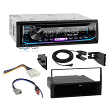 Load image into Gallery viewer, JVC Radio SiriusXM Bluetooth 1 Din Dash Kit Harness For 07-12 Nissan Sentra