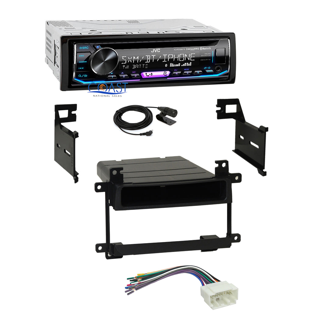 JVC Radio SiriusXM Bluetooth Dash Kit Harness For 03-06 Suzuki Grand Vitara XL7