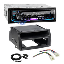 Load image into Gallery viewer, JVC Radio SiriusXM Bluetooth 1 Din Dash Kit Harness For 2003-08 Toyota Corolla