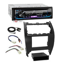 Load image into Gallery viewer, JVC Car Stereo SiriusXM Bluetooth 2 Din Dash Kit Harness For 12-14 Toyota Camry