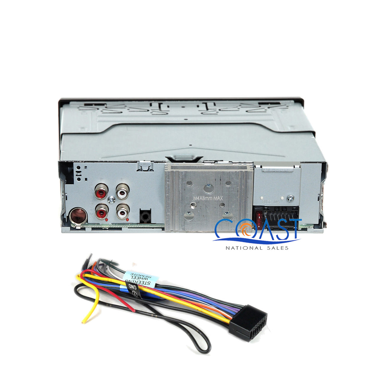 Single DIN Installation Stereo Dash Kit w//pocket for 1980-2004 Toyota Vehicles