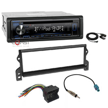 Load image into Gallery viewer, Kenwood Stereo Bluetooth Single Din Dash Kit Harness For 2002-06 Mini Cooper
