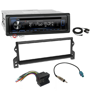Kenwood Stereo Bluetooth Single Din Dash Kit Harness For 2002-06 Mini Cooper