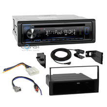 Load image into Gallery viewer, Kenwood Radio Single Din Bluetooth Dash Kit Harness For 2007-2012 Nissan Sentra