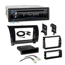 Load image into Gallery viewer, Kenwood Stereo Bluetooth 2 Din Dash Kit Harness For 07-13 Toyota Tundra Sequoia