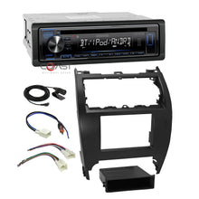 Load image into Gallery viewer, Kenwood Stereo Bluetooth Double Din Dash Kit Harness For 2012-14 Toyota Camry