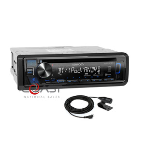 Kenwoo Spotify Bluetooth Dash Kit Harness For 02-08 Audi A4 S4 Symphony Radio